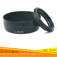 Lens Hood Canon ES-62 Ukuran 52mm Utk Lensa Fix 50mm F1.8