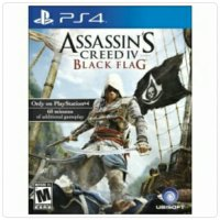 Promo Bd ps4 assassins creed IV black flag new Bagus