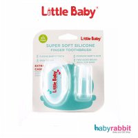 Little Baby Super Soft Silicone Finger Toothbrush Sikat Lidah BPA Free
