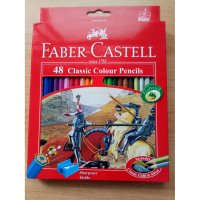 Pensil Warna Faber Castell isi 48 Classic