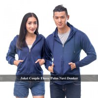 2 PCS JAKET - JAKET COUPLE FLEECE MURAH| PUSAT HOODIE ZIPPER POLOS| JAKET SELETING