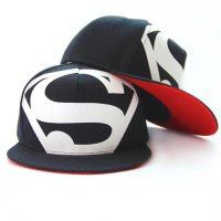 Topi Superman Hip Hop Snapback Caps Hats Unisex