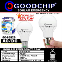 [Goodchip] Bohlam Led Lampu Emergency 20 Watt Merk Goodchip By Mitsuyama