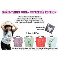 PROMO Kazel - TShirt Girl Butterfly Edition SMALL