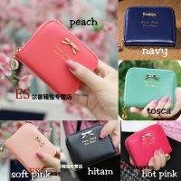 dompet wanita korea import mini ribbon wallet fashion cewek