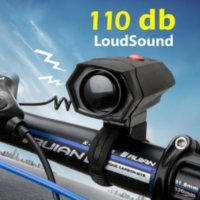 Bike Handle Bar Bell Electric Horn Loud Voice for Bicycle - Bel Sepeda