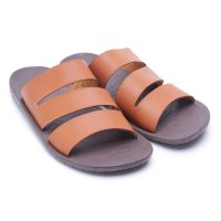 [Free Ongkir*] Dr.Kevin Sandals Leather 3 Pilihan Model 17164 Tan, Blue, 17163 Tan