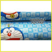 WPSDORASQUARE DORAEMON WALLPAPER STICKER WALPAPER DINDING