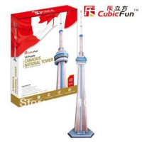 [globalbuy] CN Tower Tower CubicFun 3D educational puzzle Paper & EPS Model Papercraft Hom/1327619
