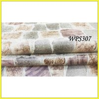 WALLPAPER STICKER WPS307 COLORFUL STONE WALPAPER STIKER DINDING