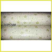 WALLPAPER STICKERWPS300 WHITE N GREEN WALPAPER STIKER DINDING