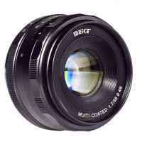 lensa meike 35mm f1.7 manual focus lens aps-c for sony mirrorless