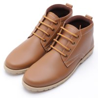 Dr.Kevin Mens Leather Boot Shoes 1036 Camel