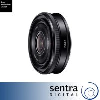 Sony E-Mount 20mm F/2.8 Lensa SEL20F28