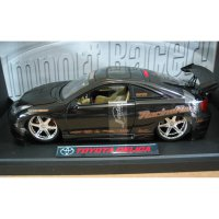 Diecast Jada Toyota Celica Black Car Racing Hart Import Racer 1/18