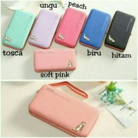 DOMPET WANITA KOREA JIMS HONEY MEGAN HEELS WALLET DOMPET IMPORT