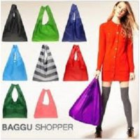 BAGGU BAG TAS BELANJA LIPAT KOREA SHOP TOTE TRAVEL BAGS SHOP KOSMETIK