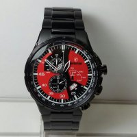 Jam Tangan Pria Expedition E-6747 Black Red Original