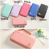 dompet wanita import Megan Heels wallet fashion lucu korea dompet hp