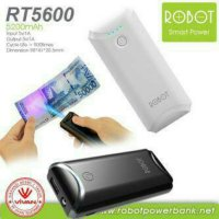 Powerbank Power Bank Robot RT5600 5200 mAh Vivan Original