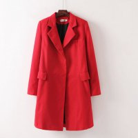 Blazer / Coat / Jacket Korea Outer Cardigan Winter coat Fashion Wanita