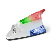 Car Shark Wind LED Light - Lampu Hiu Antena Mobil Tenaga Angin