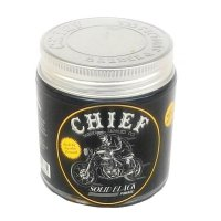 Chief Solid Black Strong Hold Waterbased Pomade 4.2 Oz Gratis Sisir