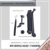 Monopod 3 ways EAGLE EYE/ monopod 3 way/ tongsis/ mini tripod/ 3 ways