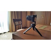 Multifungsi Stand Kaki Tongsis Monopod / Mini Tripod Yunteng +Holder U