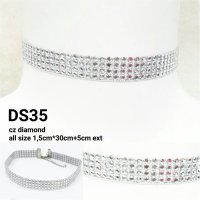 KALUNG KOREA CHOKER FULL DIAMOND DS35