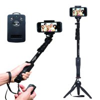 Yunteng -Tongsis Monopod Bluetooth Yt-1288 + Tripod Mini 268