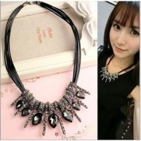 Kalung Korea Import diamond white