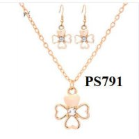 Perhiasan Set (Kalung anting korea gelang import cincin xuping)