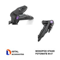 Fotomate M-07 2 in1 Portable Folding Mini Camera Tripod Monopod Stands