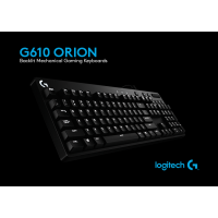 Logitech G610 Orion Brown Mechanical Keyboard/Cherry Brown