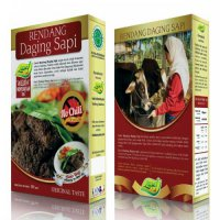 2 Rendang Daging Sapi NO CHILI
