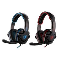 Headset Gaming Sades SA-901 Deep Bass Gaming USB Plug 7.1 Sound