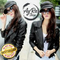 Blazer Korean Girl / Jaket Wanita Korea JK81 Semi Kulit
