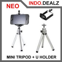 Neo Mini Tripod Bonus U Holder Ringstar For Handphone