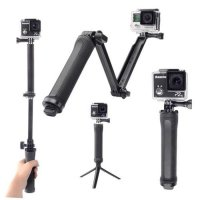 monopod 3 Way Tripod for Gopro/Sjcam/Xiaoyi/B-pro