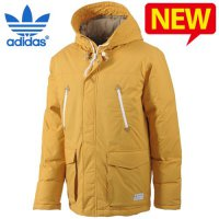 Adidas padded jacket / / GF-G69146 / / Long Duck down parka goose down jacket for men Cheap Sale