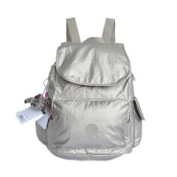 Tas Ransel Wanita Authentic Kipling Backpack City Gold
