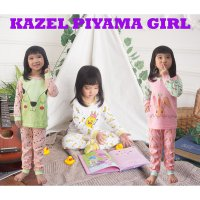 (Gold Product) Kazel - Piyama Girl 3stel Size Newborn