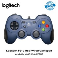 LOGITECH Gamepad F310 Best USB Wired Joystick Gaming Original