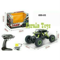Mobil Rc offroad 4wd Rock LEADER 2,4 Ghz Mobil Remot Controll Monster Jump Rock Clawler
