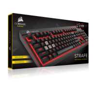 Dijual Corsair STRAFE Mechanical Gaming Keyboard -Cherry MX Br Murah