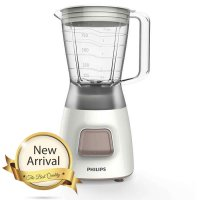 Philips - Blender Plastic 1.2 Liter 280 Watt Silver / HR2056/03