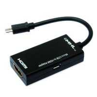 Mediatech Kabel MHL Micro USB to HDMI Adapter