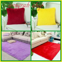 karpet bantal bulu uk 150x100x3cm