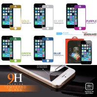 Tempered Glass Colored by Delcell iPhone 5 - 5S - SE - iPhone 5C